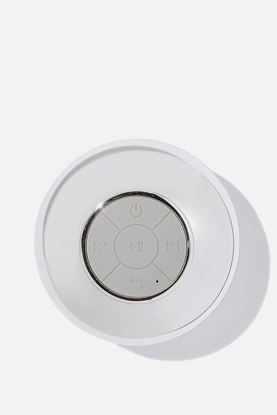 Wireless Shower Speaker, CHROME