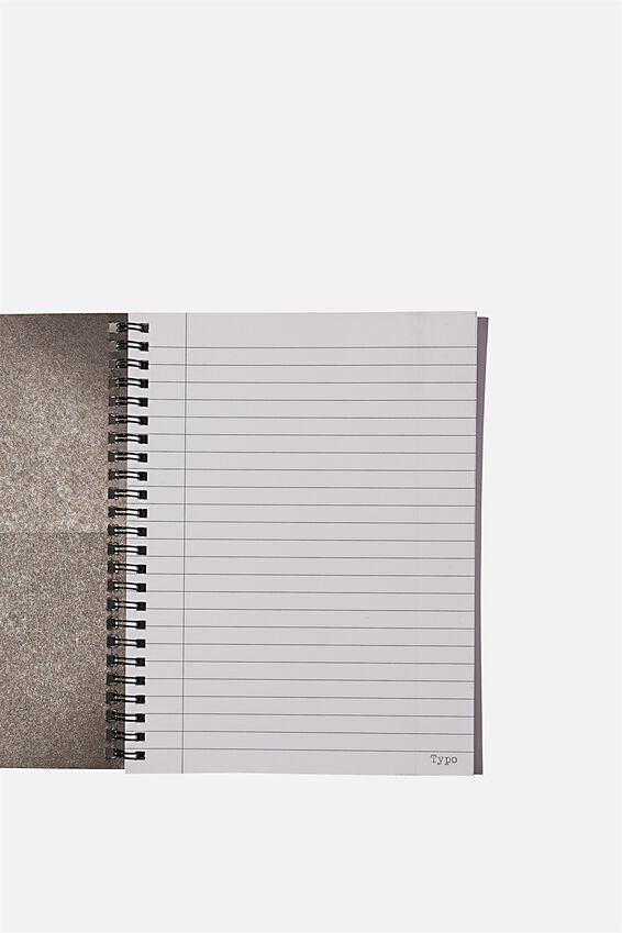 A5 Spinout Notebook Recycled, UP EARLY