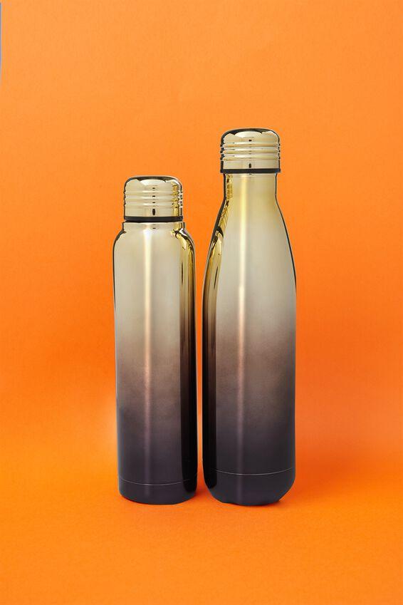 Metal Drink Bottle, ELECTROPLATED