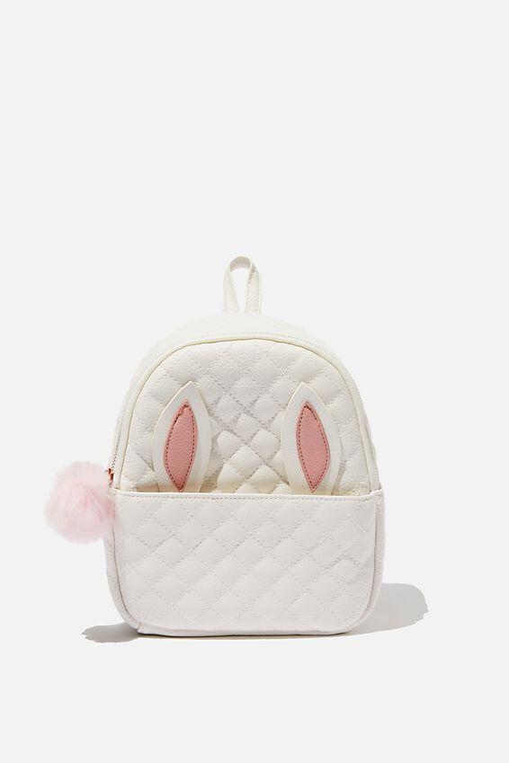 Mini Cairo Backpack, WHITE RABBIT