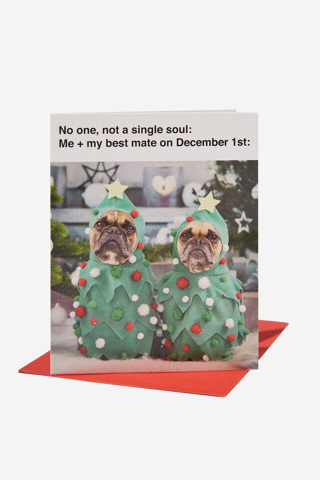 Christmas Card 2021, ME ON DECEMBER 1ST MEME!