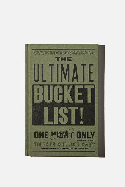 A5 Activity Book, ULTIMATE BUCKET LIST
