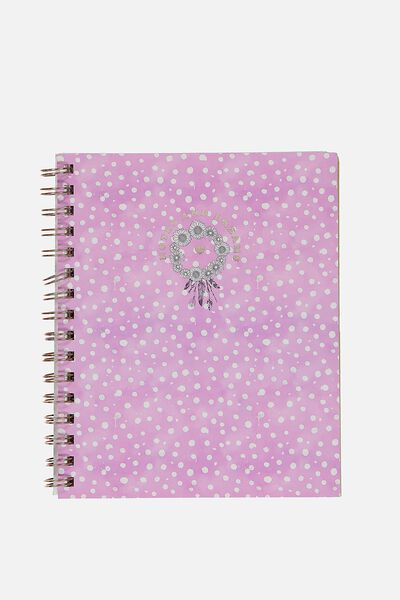 A5 Campus Notebook - 240 Pages, NOTES & DREAMS
