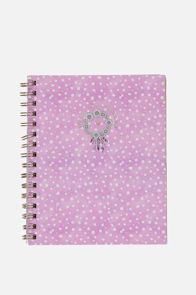 A5 Campus Notebook, NOTES & DREAMS