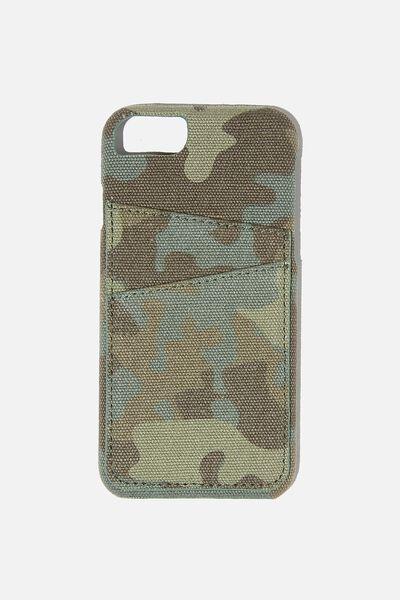 Cardholder Phone Cover Cvs Iphone 6,7,8,Se, CAMO
