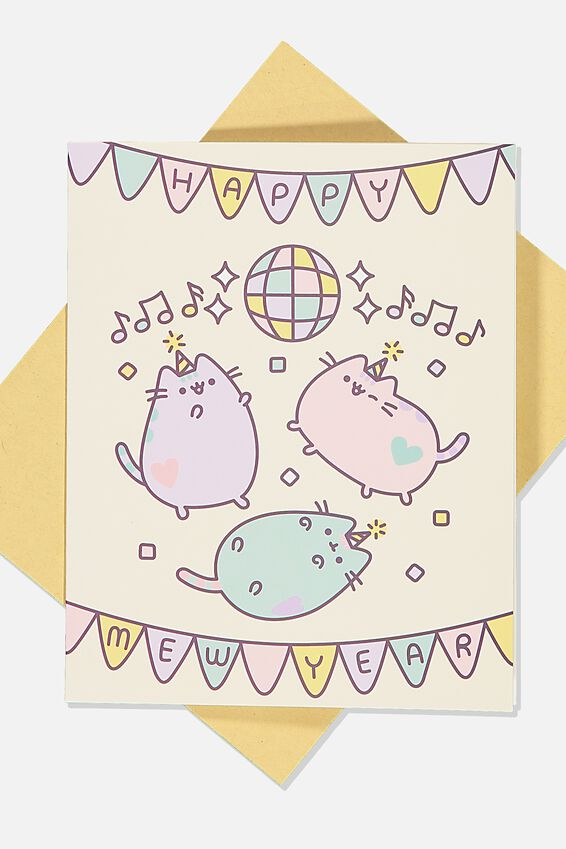 Pusheen Chinese New Year Card, LCN PUSHEE NEW YEAR