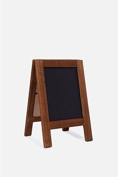 Mini Chalkboard Easel, VINTAGE