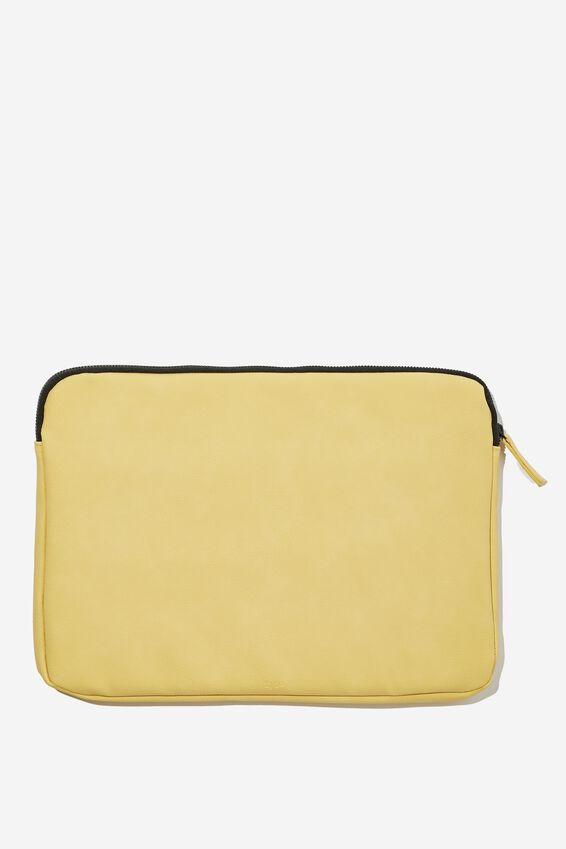 Core Laptop Cover 13 Inch, WASHED MUSTARD