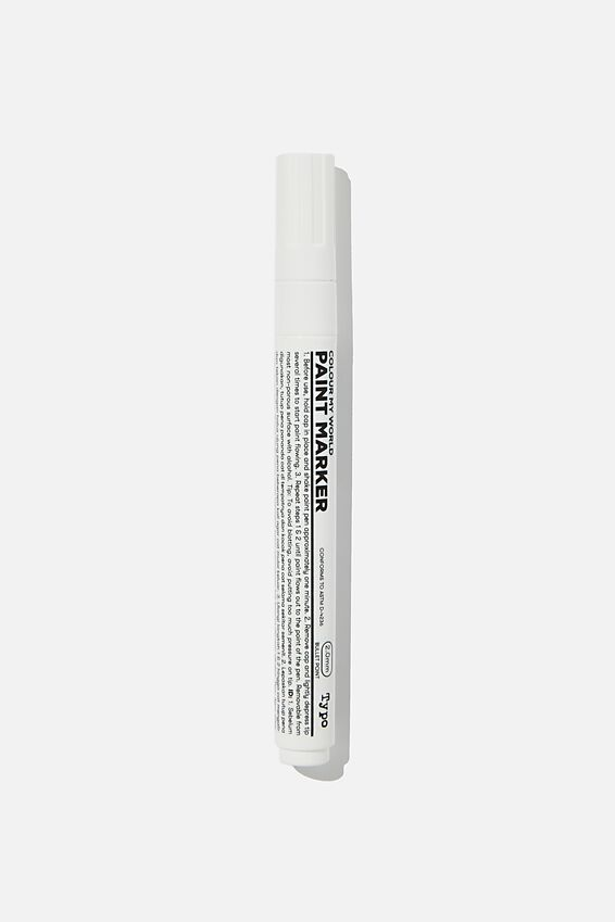 Colour My World Paint Marker, WHITE