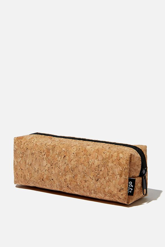 Bailey Pencil Case, CORK
