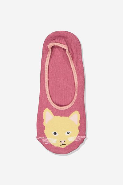 Novelty Hidden Sock, FOXY