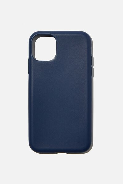 Recycled Phone Case iPhone 11, NAVY