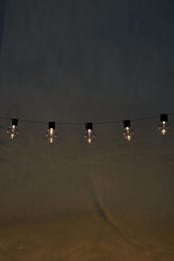 Usb Festoon String Lights, CLEAR BULBS