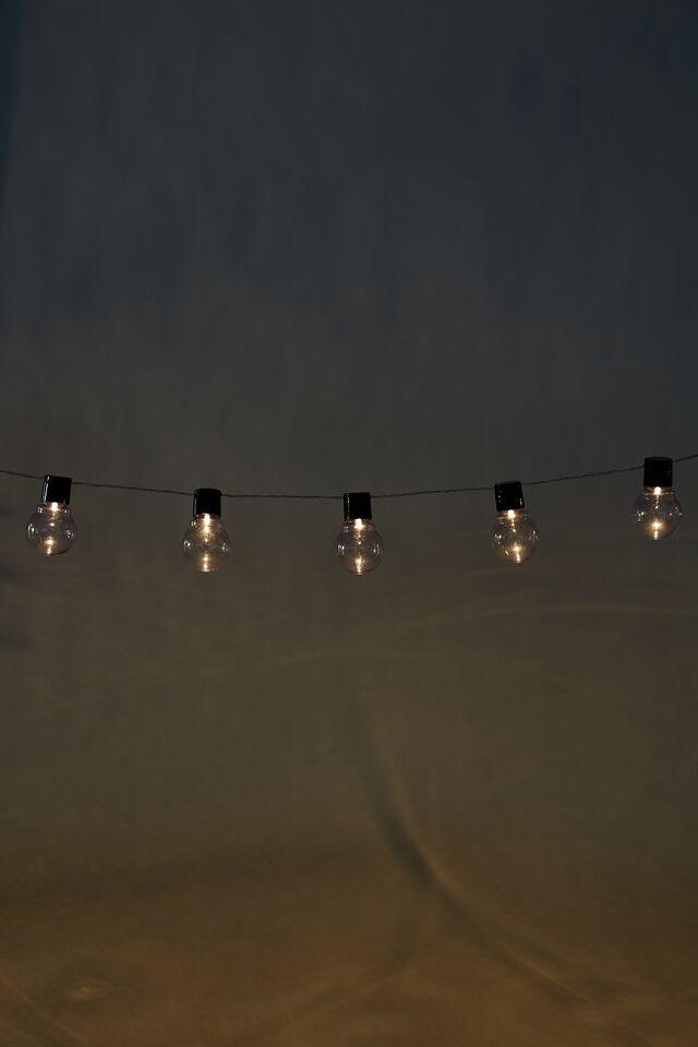 Usb Festoon String Lights, CLEAR BULBS