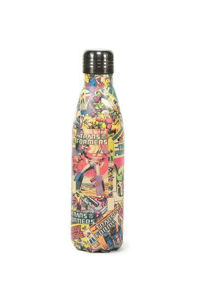 Metal Drink Bottle, LCN TRANSFORMERS