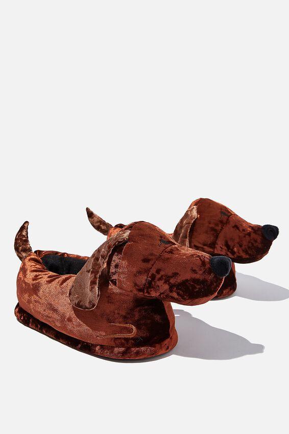 Slippers, DACHSHUND