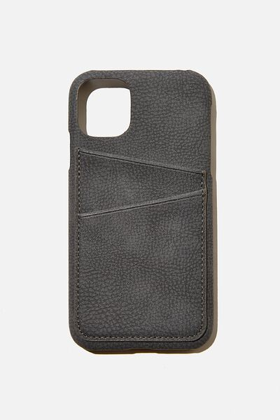 Cardholder Phone Cover Iphone 11, WELSH SLATE