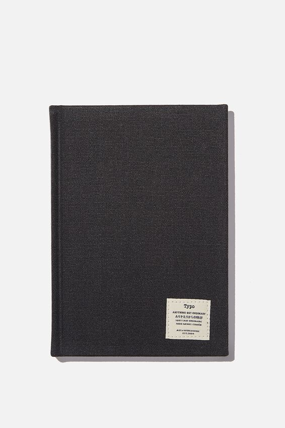 """A5 Sketch Notebook (8.27"""" x 5.83""""), BLACK"""