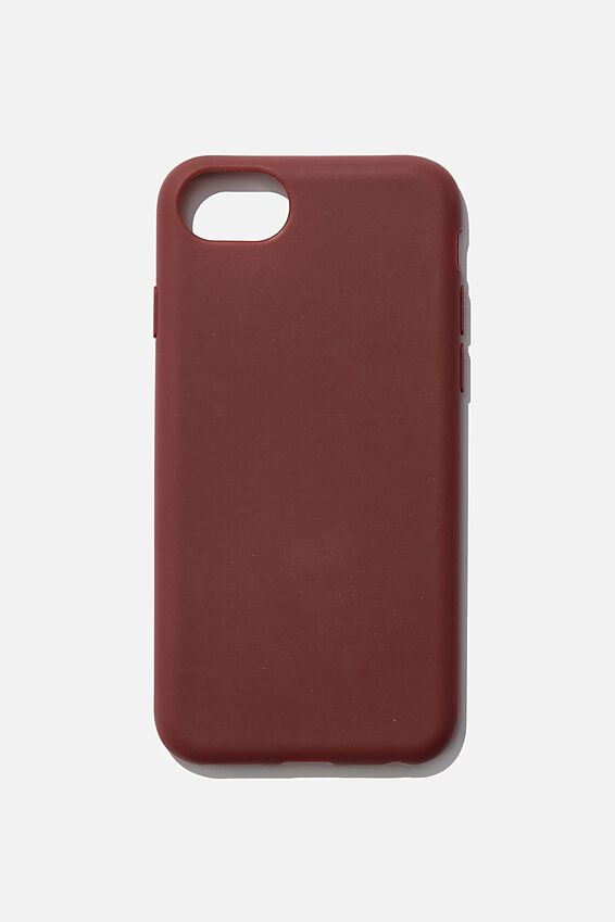 Slimline Recycled Phone Case Iphone SE, 6,7,8, MULBERRY