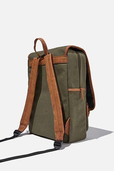 Heritage Backpack 2.0, WASHED KHAKI