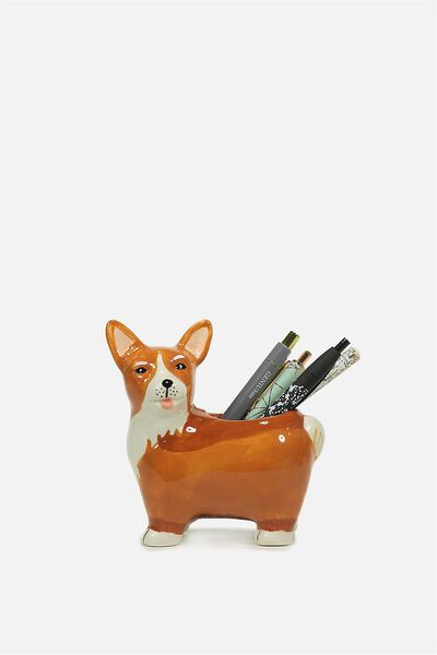 Pen Holder, GEORGY THE CORGI
