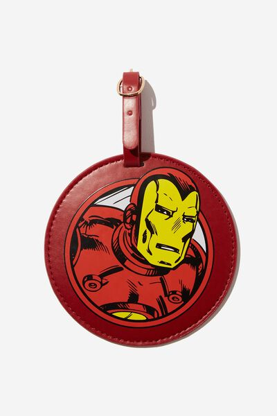 Shape Shifter Luggage Tag, LCN IRON MAN ICON