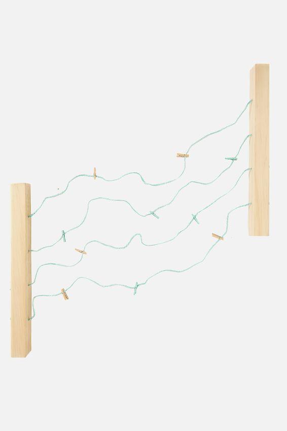 Large Hang And Peg Frame Kit, NATURAL