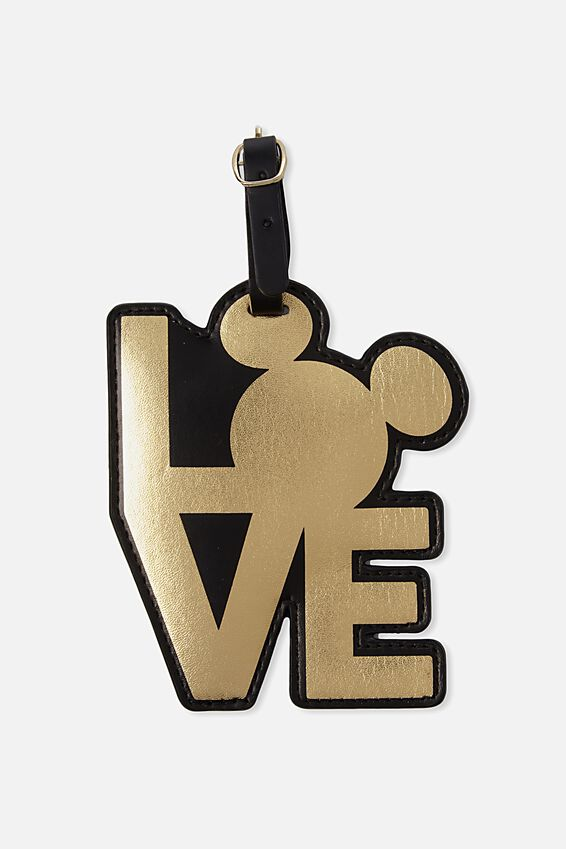 Disney Shape Shifter Luggage Tag, LCN LOVE MICKEY