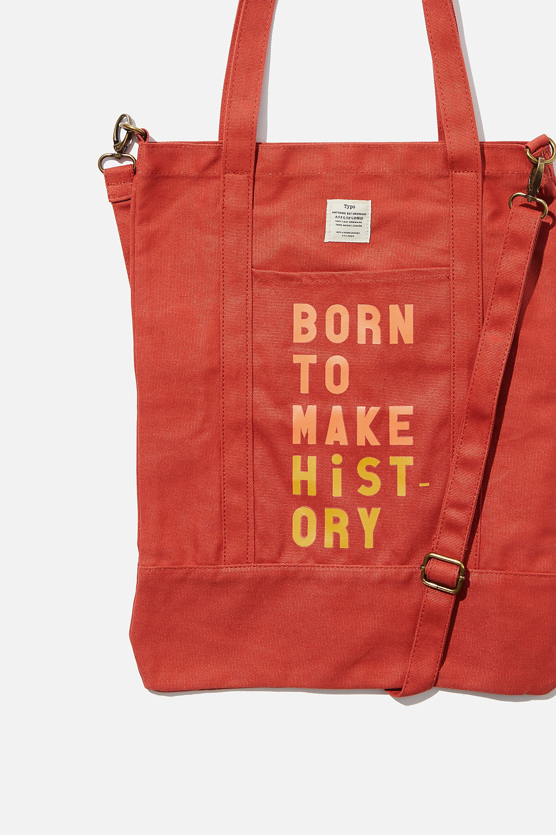 Tote Bag With Zip Born To Love Her Best Gifts For Couples