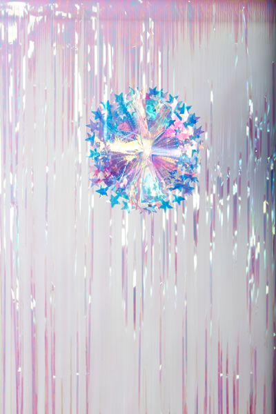 Hanging Decoration Small, IRIDESCENT SHOOTING STAR