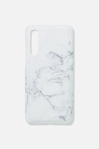 Cardholder Phone Case Huawei P20 Pro, MARBLE