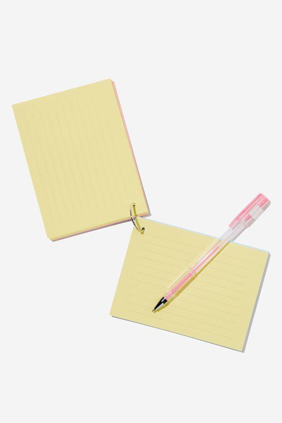 Study Cards, PROCRASTI-NOTES