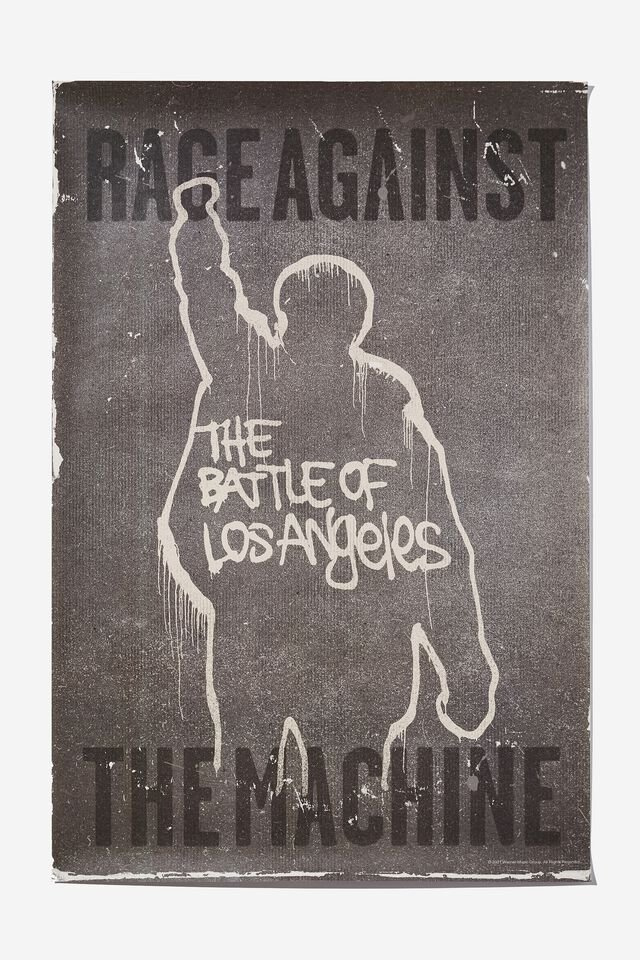 Hang Out Poster, LCN PRO RAGE AGAINST THE MACHINE