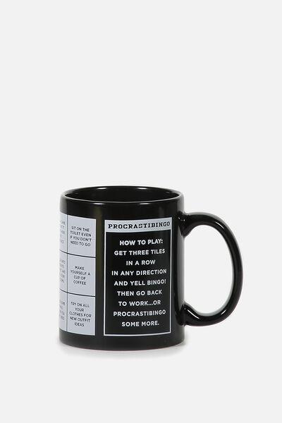 Anytime Mug, PROCRASTIBINGO!