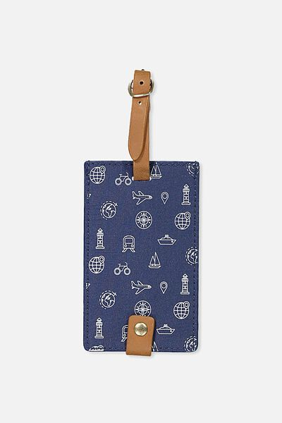 Core Luggage Tag, TRAVEL ICONS