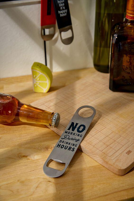 Bar Blade Bottle Opener, NO WORKING!