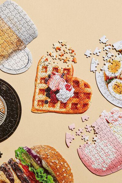 100 Piece Puzzle, WAFFLE
