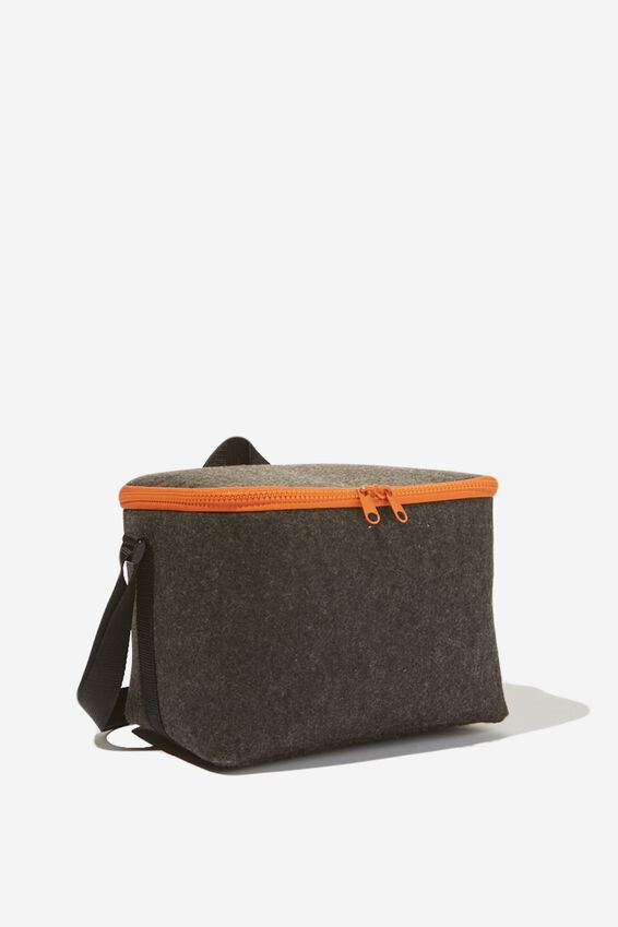 Cooler Lunch Bag, CHARCOAL