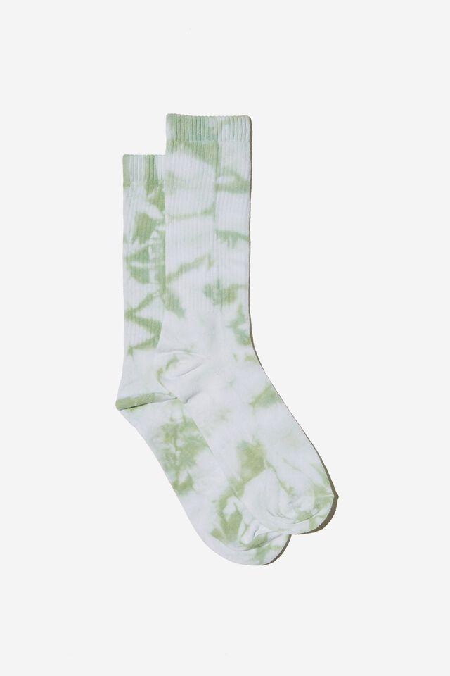 Socks, GUM LEAF TIE DYE