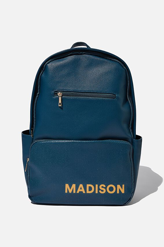 Personalised Formidable Backpack, TEAL