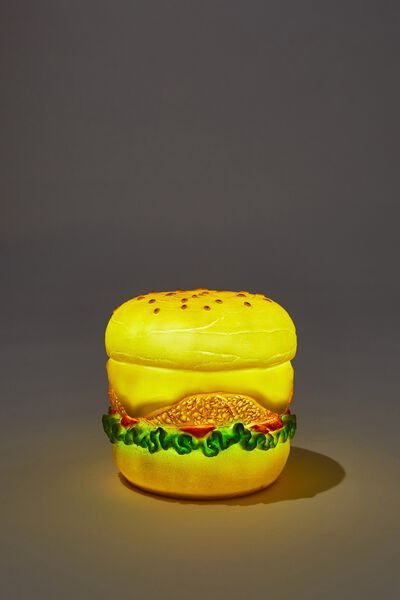 Midi Shaped Novelty Light, BURGER