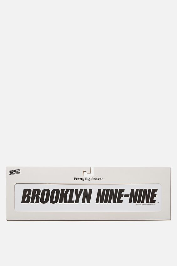 Brooklyn Nine-Nine Super Sticker, LCN UNI BROOKLYN 99 LOGO