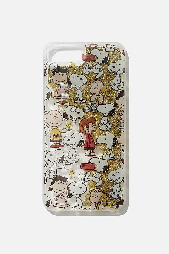 Snoopy Shake It Phone Case 6, 7, 8 Plus, LCN PEA SNOOPY YARDAGE