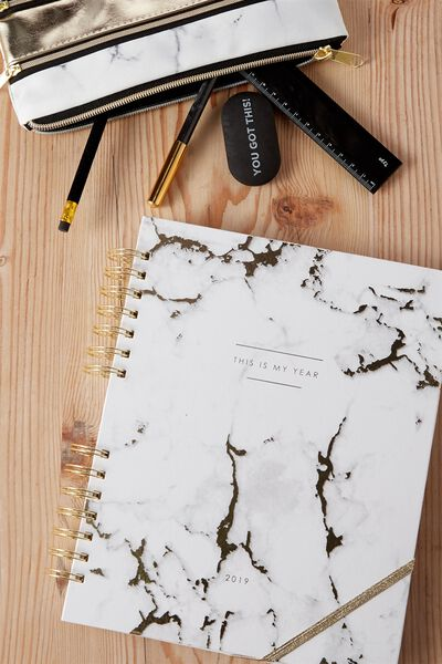 2019 Ultimate Planner, MARBLE