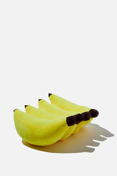 Get Cushy Cushion, PLUSH BANANAS