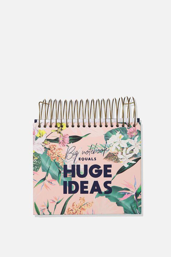Big Ideas Notepad, BIRD OF PARADISE