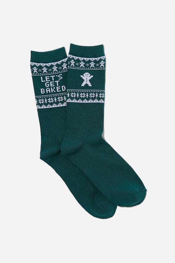 Socks, LETS GET BAKED