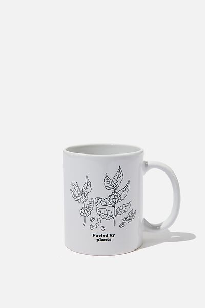 Anytime Mug, FUELED BY PLANTS