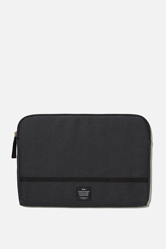 Take Me Away 11 Laptop Case, WASHED BLACK