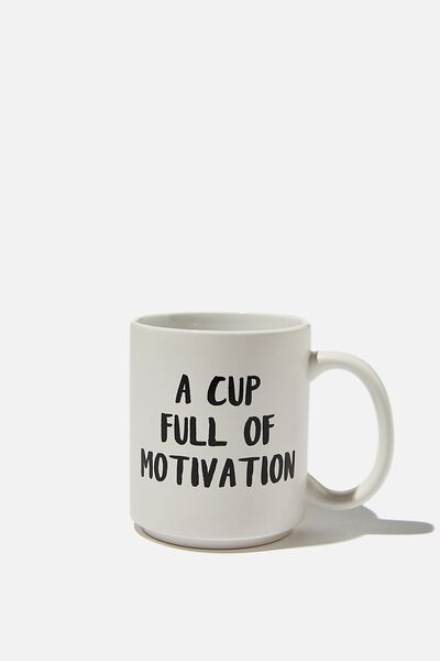 Daily Mug, CUP FULL OF MOTIVATION